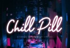 Chill Pill [1 Font] | The Fonts Master