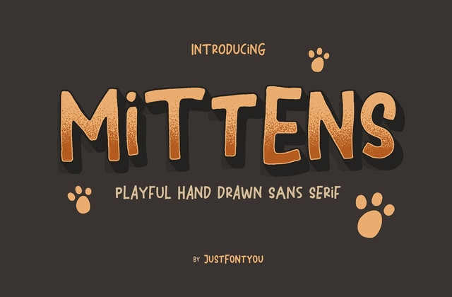 Mittens [1 Font] | The Fonts Master