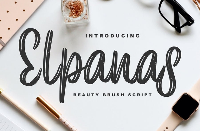 Elpanas [1 Font] | The Fonts Master
