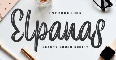 Elpanas [1 Font] | The Fonts Master