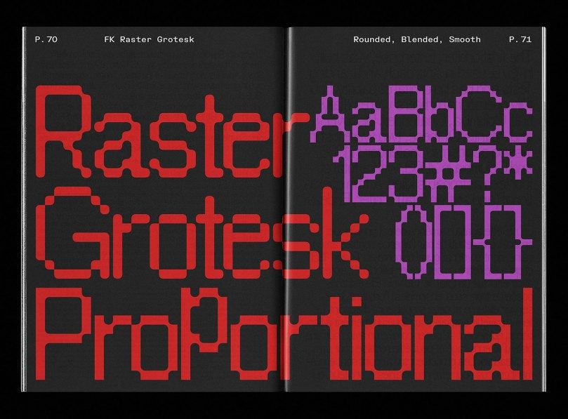 Fk Raster Grotesk Super Family [8 Fonts] | The Fonts Master