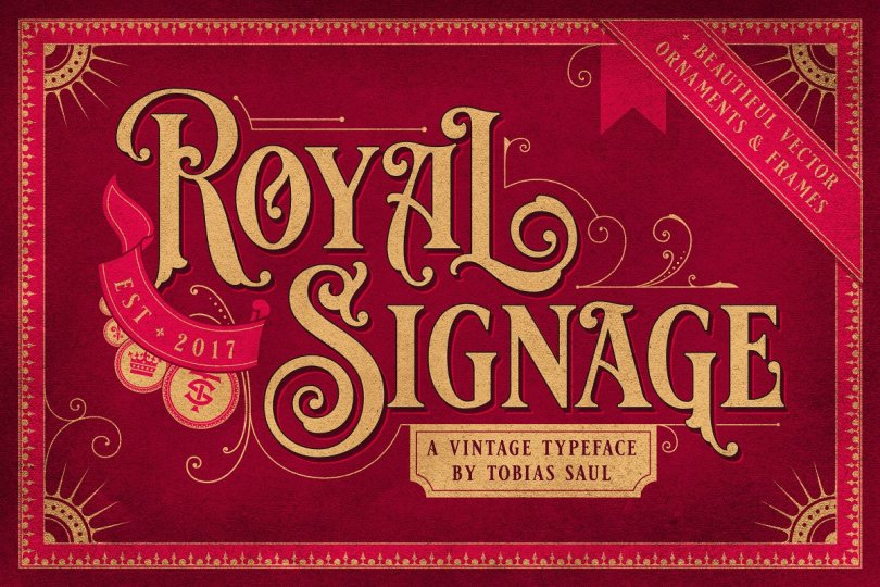 Royal Signage [1 Font] | The Fonts Master
