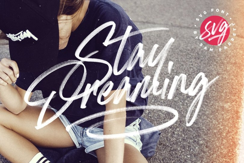 Stay Dreaming [2 Fonts] | The Fonts Master