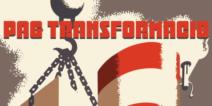 Pag Transformacio [1 Font]   The Fonts Master