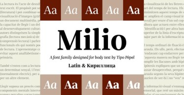 Milio Super Family [10 Fonts] | The Fonts Master