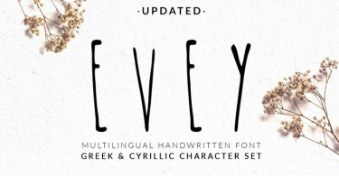 Nf Evey [2 Fonts] | The Fonts Master