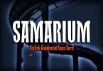 Samarium [1 Font] | The Fonts Master