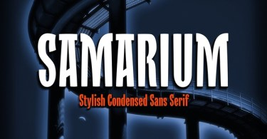 Samarium [1 Font] | The Fonts Master