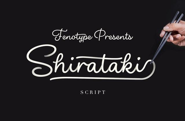 Shirataki [1 Font] | The Fonts Master