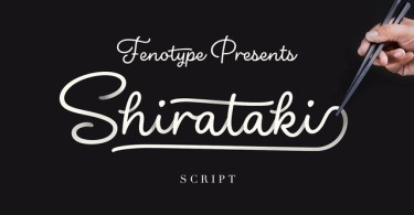 Shirataki [1 Font] | The Fonts Master