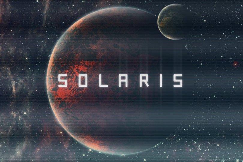 Solaris [1 Font] | The Fonts Master