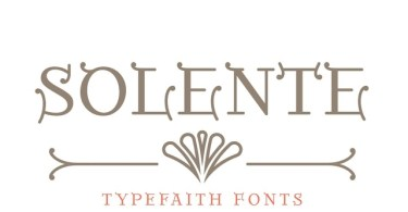 Solente [1 Font] | The Fonts Master