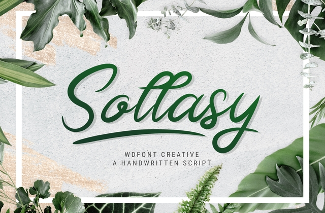 Sollasy [2 Fonts] | The Fonts Master