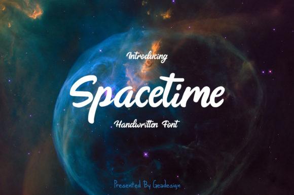 Spacetime [1 Font] | The Fonts Master