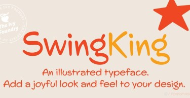 Swingking [2 Fonts] | The Fonts Master