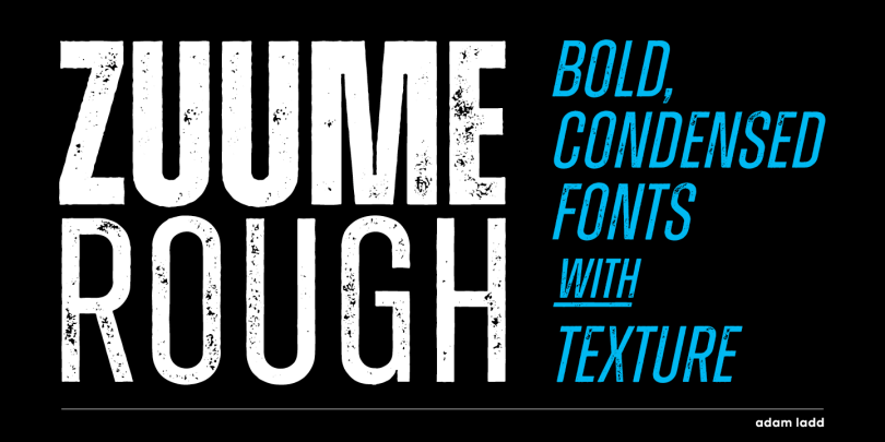 Zuume Rough [4 Fonts]   The Fonts Master