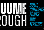 Zuume Rough [4 Fonts] | The Fonts Master