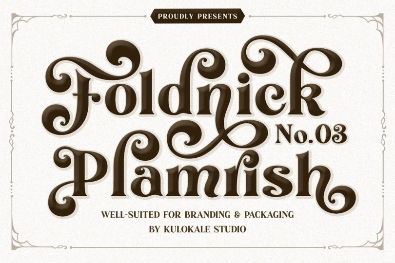 The Foldnick [3 Fonts]   The Fonts Master