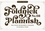 The Foldnick [3 Fonts] | The Fonts Master