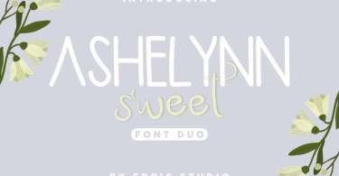 Ashelynn Duo [2 Fonts] | The Fonts Master