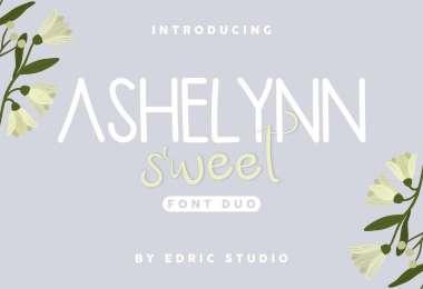 Ashelynn Duo [2 Fonts]   The Fonts Master