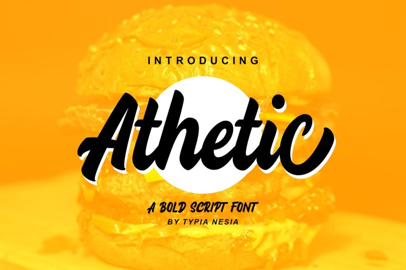 Athetic [1 Font] | The Fonts Master