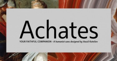 Achates Super Family [16 Fonts] | The Fonts Master
