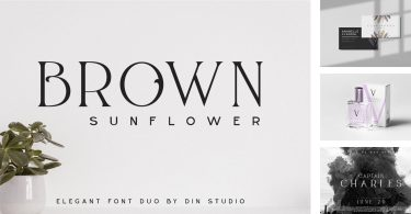 Brown Sunflower [2 Fonts] | The Fonts Master
