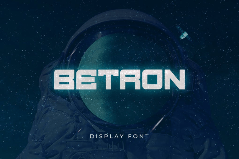 Betron [1 Font] | The Fonts Master