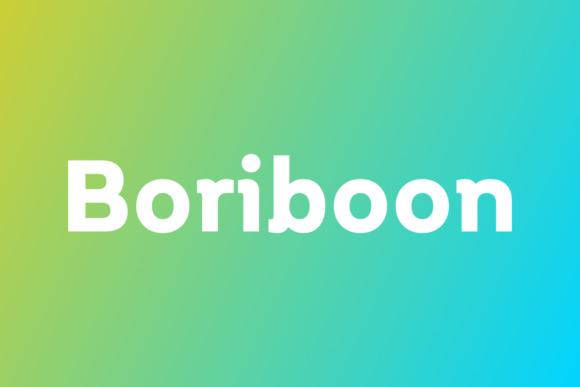 Boriboon [18 Fonts] | The Fonts Master