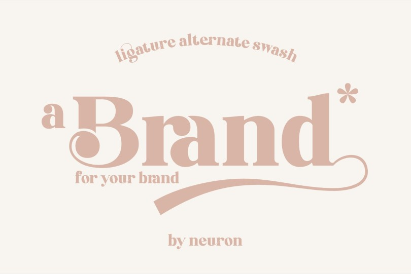 Brand [1 Font] | The Fonts Master