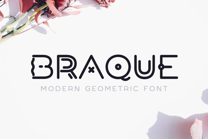 Braque [1 Font] | The Fonts Master