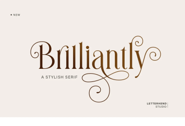 Brilliantly [1 Font]   The Fonts Master