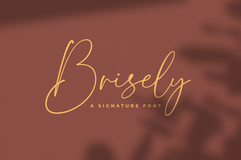 Brisely [1 Font] | The Fonts Master
