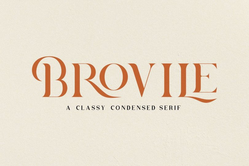 Brovile [1 Font] | The Fonts Master