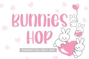 Bunnies Hop
