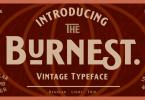 Burnest [9 Fonts] | The Fonts Master