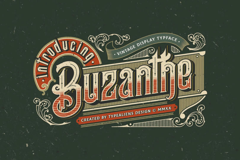 Buzanthe [1 Font] | The Fonts Master