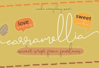 Carramellia [1 Font] | The Fonts Master