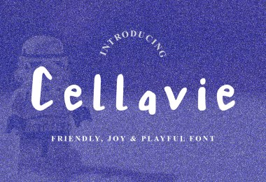 Cellavie [1 Font]   The Fonts Master