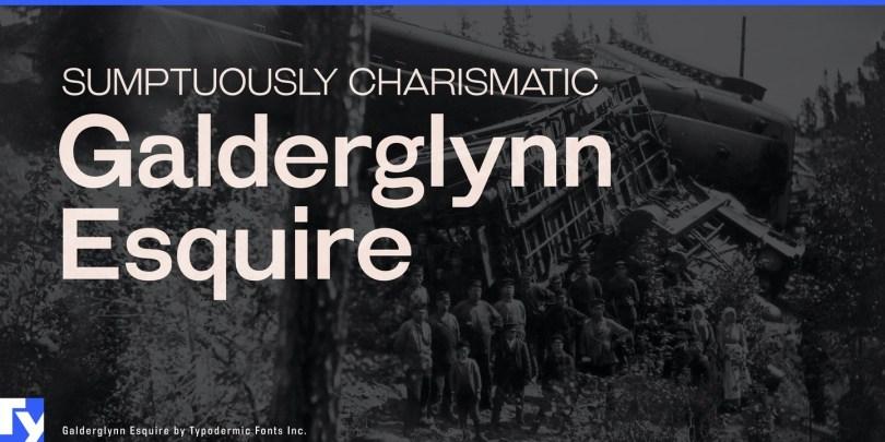 Galderglynn Esquire [14 Fonts] | The Fonts Master