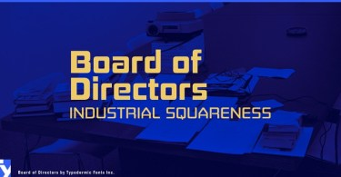 Board Of Directors [16 Fonts] | The Fonts Master