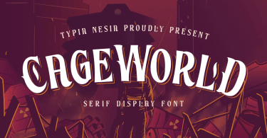 Cageworld [1 Font] | The Fonts Master