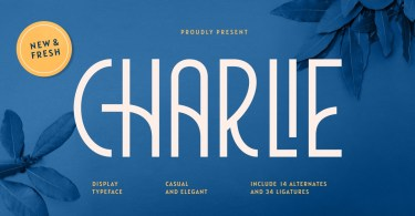 Charlie [1 Font] | The Fonts Master