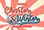 Charter Winter [1 Font] | The Fonts Master
