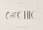 Chic [2 Fonts] | The Fonts Master