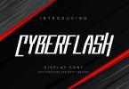 Cyberflash [1 Font] | The Fonts Master