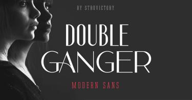 Doubleganger [1 Font] | The Fonts Master