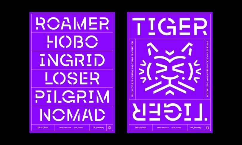 Dr-Vorga [2 Fonts]   The Fonts Master