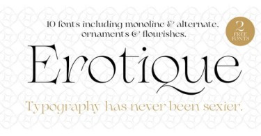 Erotique Super Family [10 Fonts] | The Fonts Master